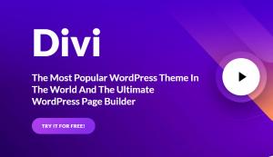 Revue du thème Divi pour WordPress