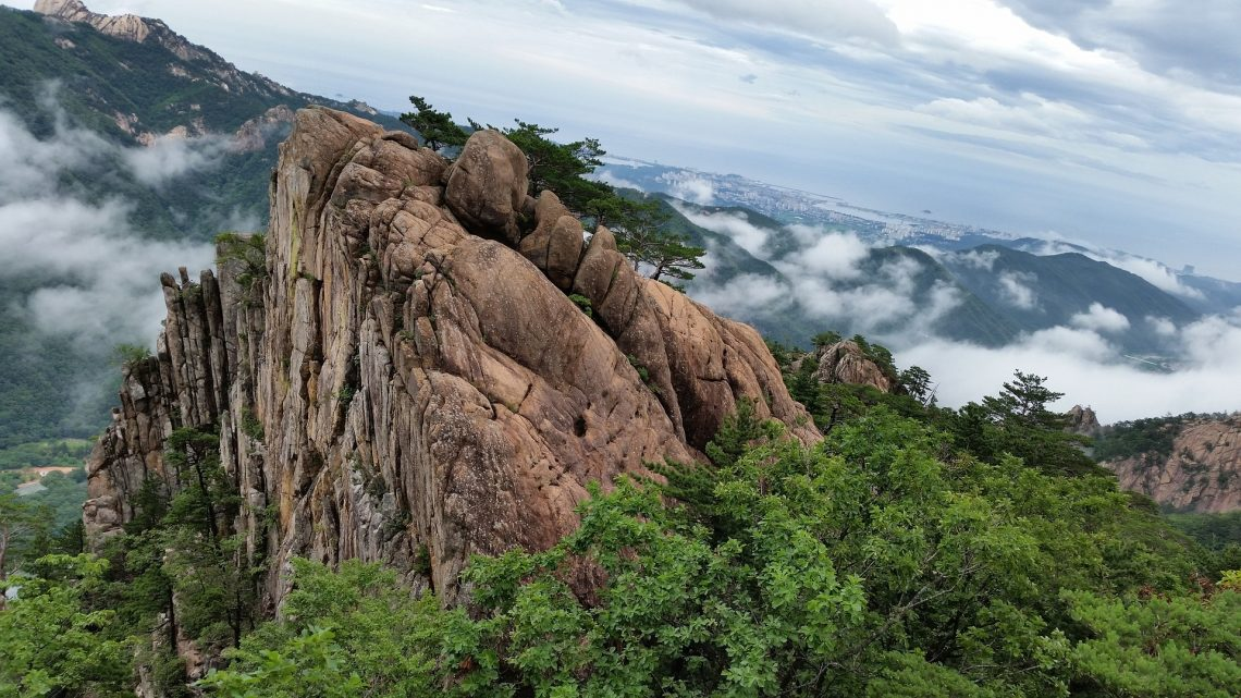 S'adonner au canyoning au cœur de la nature de la Corée