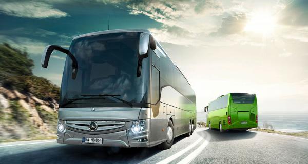 Transport de groupes en Bus
